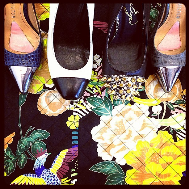 Cap-Toe love!  (Taken with Instagram at Seventeen Magazine)