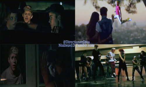 Niall Horan in Justin Bieber's As Long As You Love Me music video