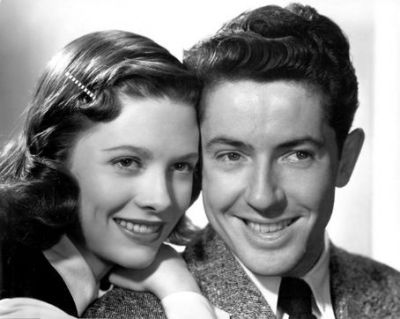 Cathy O'Donnell and Farley Granger