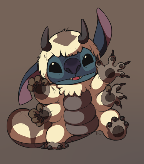 fuckyeahavatarshipping:  Appa Suit Stitch by HappyCrumble