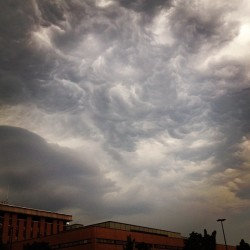 We've been having the most apocalyptic weather lately  (Taken with Instagram)
