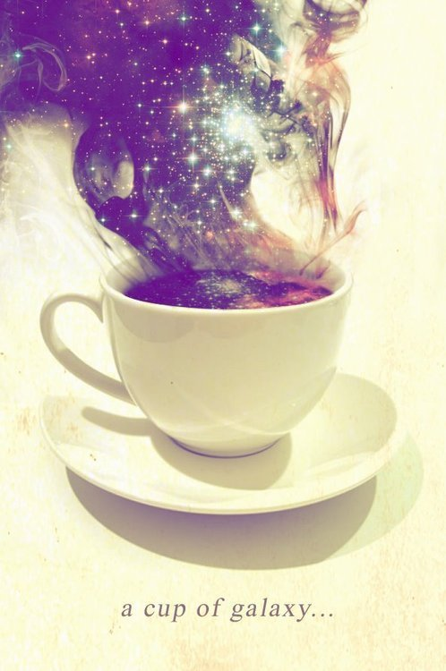 tasteebytes:  I always love a good cup of galaxy in the morning