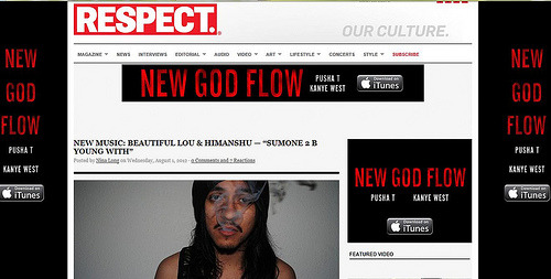 Beautiful Lou on Respect Mag.com
