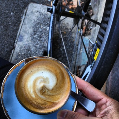 Post Ride - Coffee & carbon neutral.. (Taken with Instagram at The Bunker)