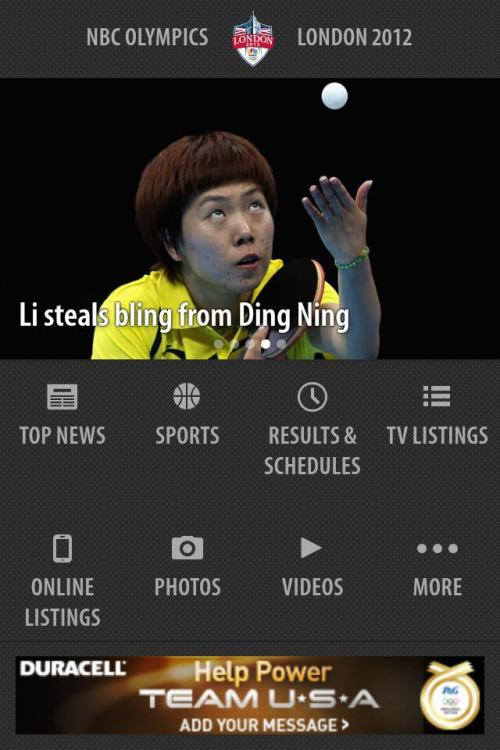 via olympics-in-london Li steals bling from Ding Ning! I can't stop saying it!