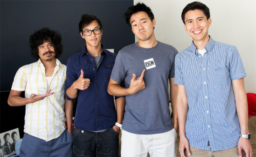 Hangin' with Wesley Chan and Philip Wang of Wong Fu Productions.