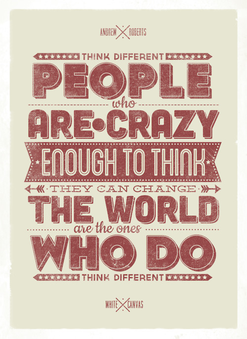visualgraphic:  Think Different.