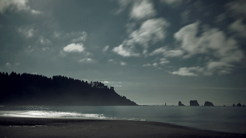 La Push, WA long exposure