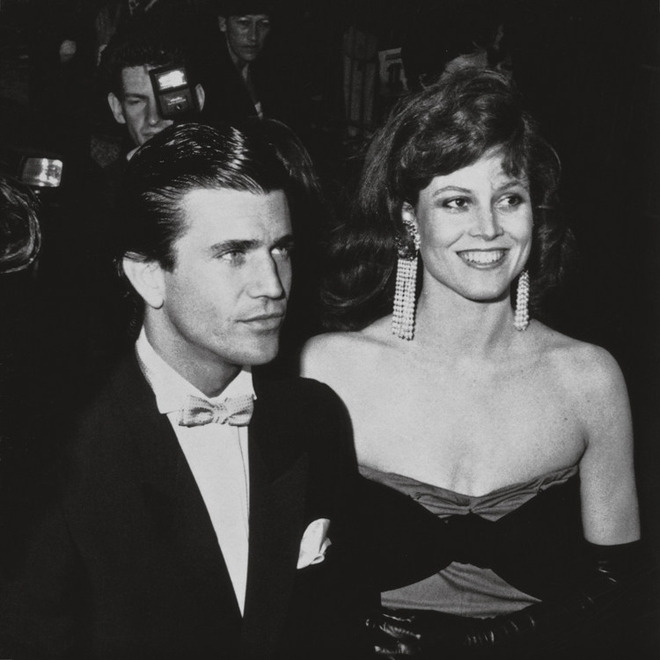 We almost forgot Mel Gibson was once a young cutie. Sigourney Weaver glows in 1982, three years after Ridley Scott's Alien. The couple shines bright at Cannes, except they're not dating. They're stepping out to celebrate their movie, Year of Living Dangerously (if you haven't seen the chemistry, get the movie). Here is the striking 80's Sigourney on Johnny Carson, rocking shoulder pads and polka dots while speaking on the film. — Jauretsi (Photo: Copyright © 2009, The Los Angeles Times)