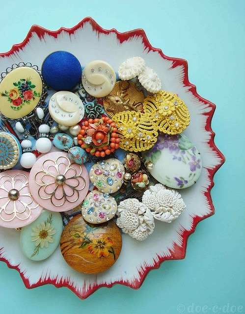 Vintage Buttons Collection