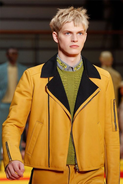 Kenzo Menswear Spring/Summer 2013 Paris Model: Carlos Peters