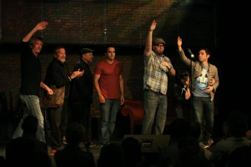 Mark Pitta, Robin Williams, Bobcat Goldthwait, Nick Aragon, Johnny Taylor, Eric Cash, Matt Kirshen @ Set List/142 Throckmorton Theater.