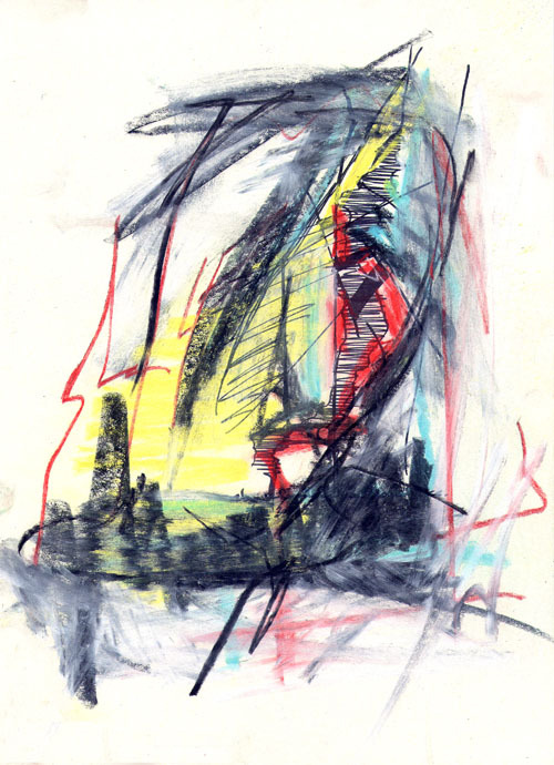 annctart:  abstract I [A4 sketch pad] - AnnCT 08/2012