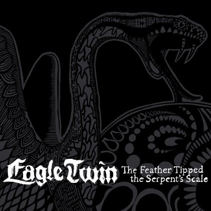 Eagle Twin's The Feather Tipped the Serpent's Scale is set to release at the end of this month through Southern Lord Records. Pretty stok'd.