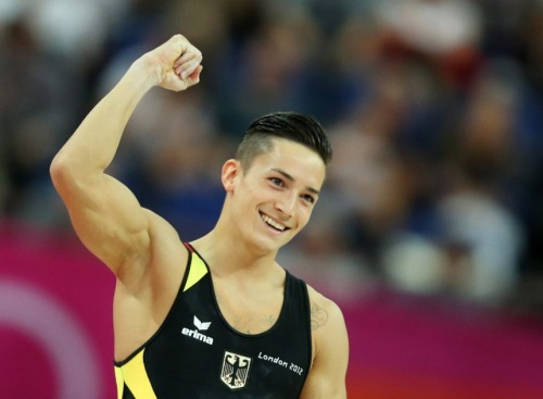 attractiveolympians:  Marcel Nguyen —- Germany