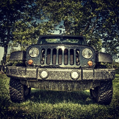 Muddy #Jeep (Taken with Instagram)