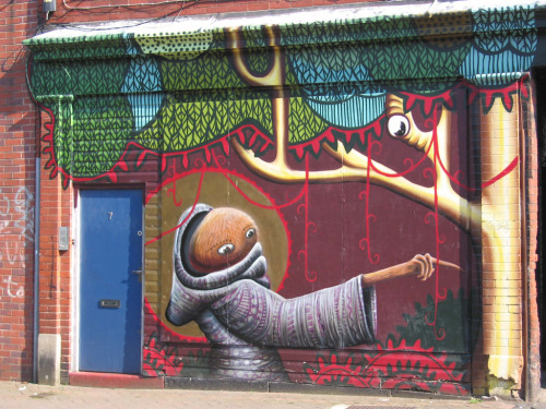 artfulstreets:  Mural London Road Sheffield (by SheffTim)