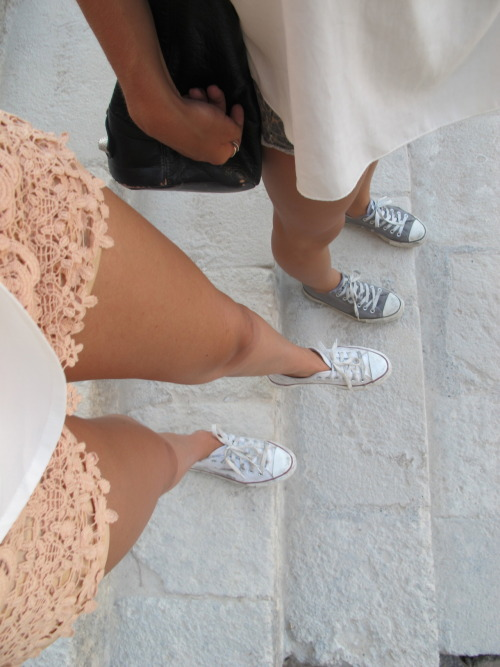 elegvnce:  a-frican:  loving the lace shorts  queued (feel free to delete)