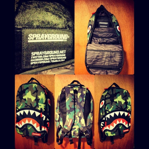 This just in from @sprayground (Taken with Instagram)