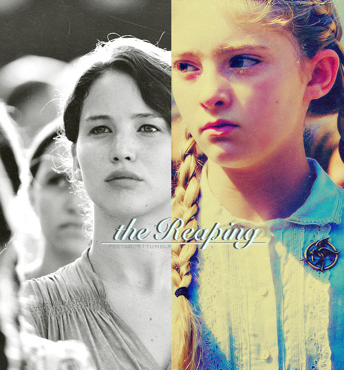 """I protect Prim in every way I can, but I am powerless against the reaping."""