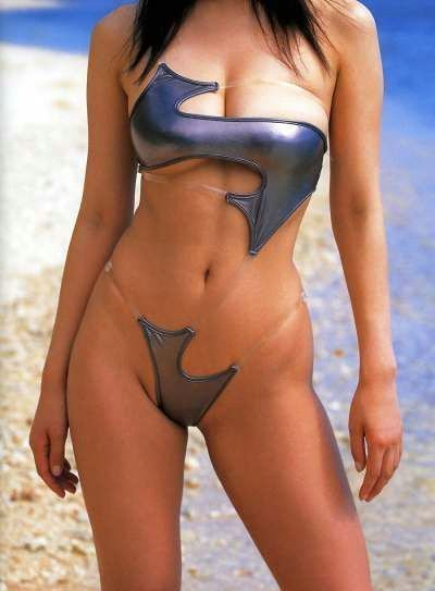 well, this is the dumbest bikini I've ever seen.