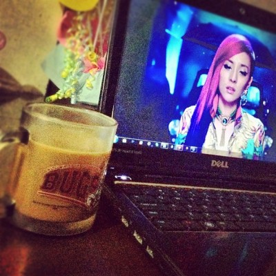 Having coffee with dara ❤☕ loljk #instagood #igers #GRIND (Taken with Instagram)