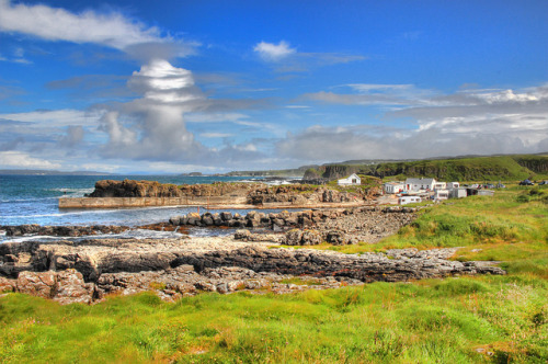 Dunseverick Harbour by John_Images on Flickr.