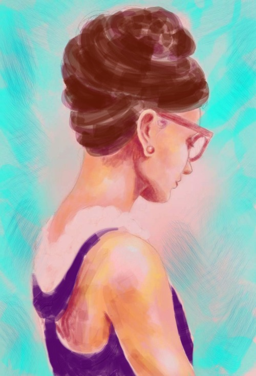 WIP of the lovely Audrey Hepburn. I probably wont ever finish this. My tablet is really giving me a hard time. I didn't think it would be so difficult to get the hang of and quite frankly, I just want to give up. I won't though cause I know I'll get there eventually. Nothing comes easy when it comes to art.
