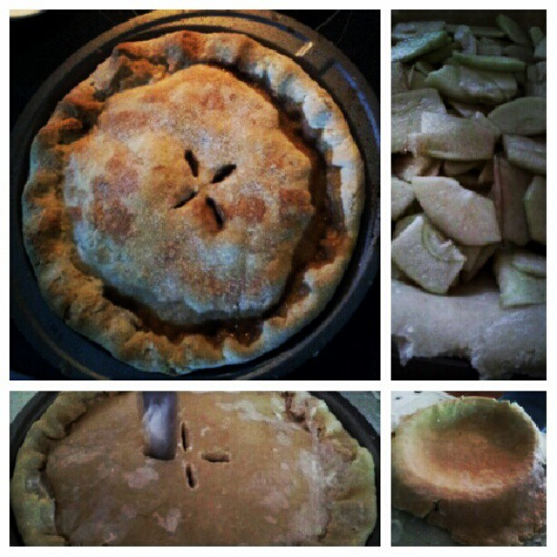 Homemade #applepie with @aishacook! :9 (Taken with Instagram)