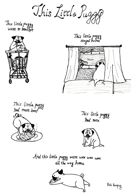 bahhumpug:  This little puggy…  This little puggy