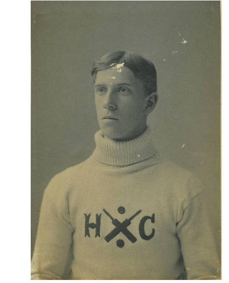 mpdrolet:  C.H. Howson, captain of the Haverford cricket Team, 1897 Bryn Mawr, Haverford, and Swarthmore College Libraries Collection