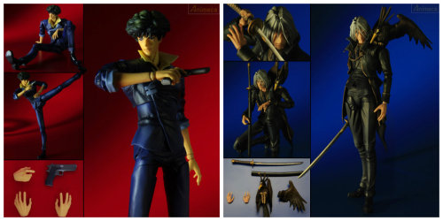 ladyluvlee:  ~*Cowboy Bebop Play Arts Figures coming this October*~
