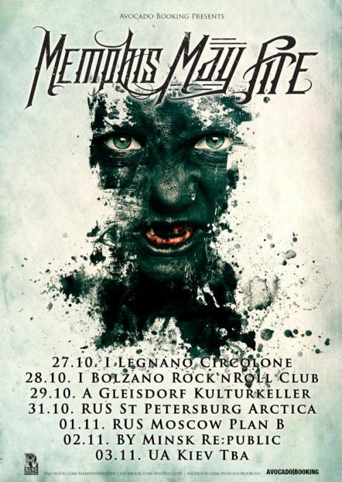 Tour Dates: Memphis May Fire