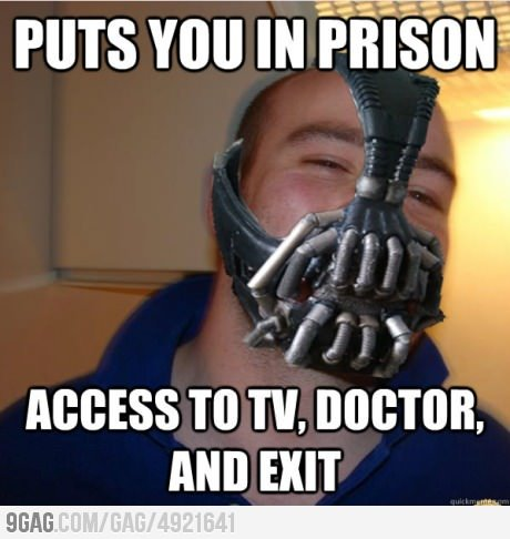 9gag:  Good Guy Bane