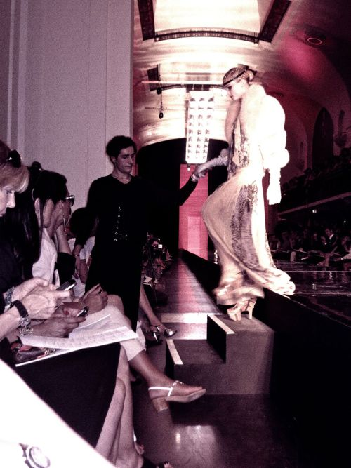 valentineuhovski:  Front row at Gaultier couture.