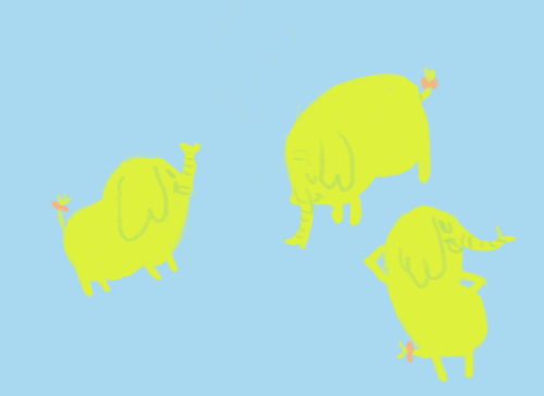 Request: A kawaii elephant Well heck! Who's cuter than Tree Trunks?