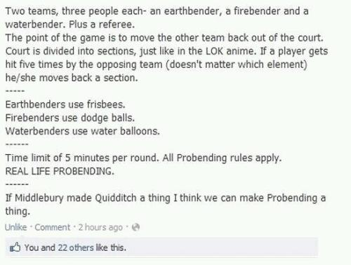 ebvoiceover:  Real Life Probending.  This needs to happen…..now  ooc: things that will happen