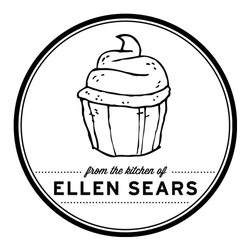 I designed a sticker for my mom to put on her bakery boxes (she is an expert baker). I'm going to be letterpress printing these tomorrow, I'm pretty stoked to see how they turn out.