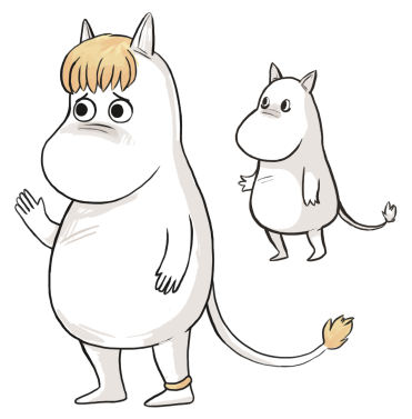 Hey it's 200, here are some lil' Moomins.