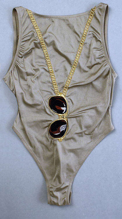 Bathing Suit Franco Moschino, 1990 The Metropolitan Museum of Art