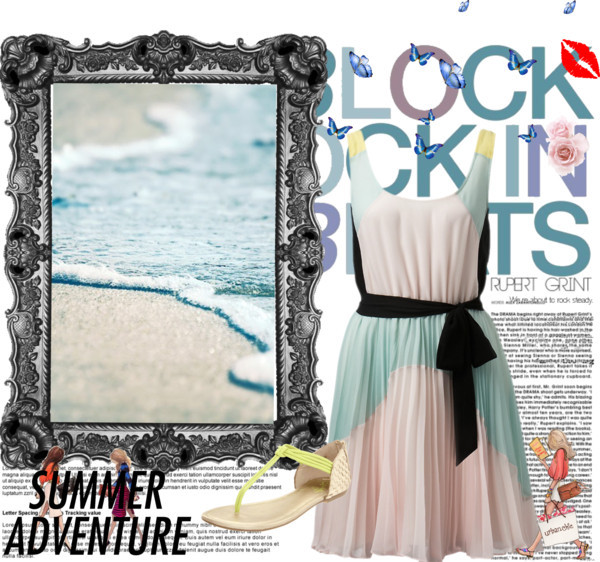 Untitled #12 by loulovescolgate featuring a color block dressColor block dress, $125 / Seychelles leather shoes
