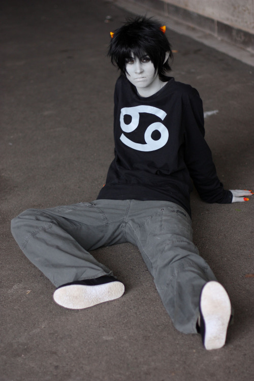 More pictures from AnimagiC!  LucilleSmiles as Karkat Vantas Picture by Lovelykryptonite