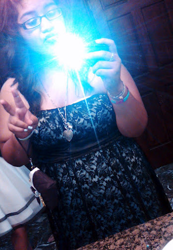 ya know just chillllin at Angel's quince c: