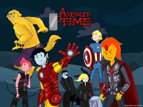 anywherebutwhereiam:  Avenger Time
