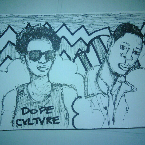 follow my team @dopecvltvre  (Taken with Instagram)