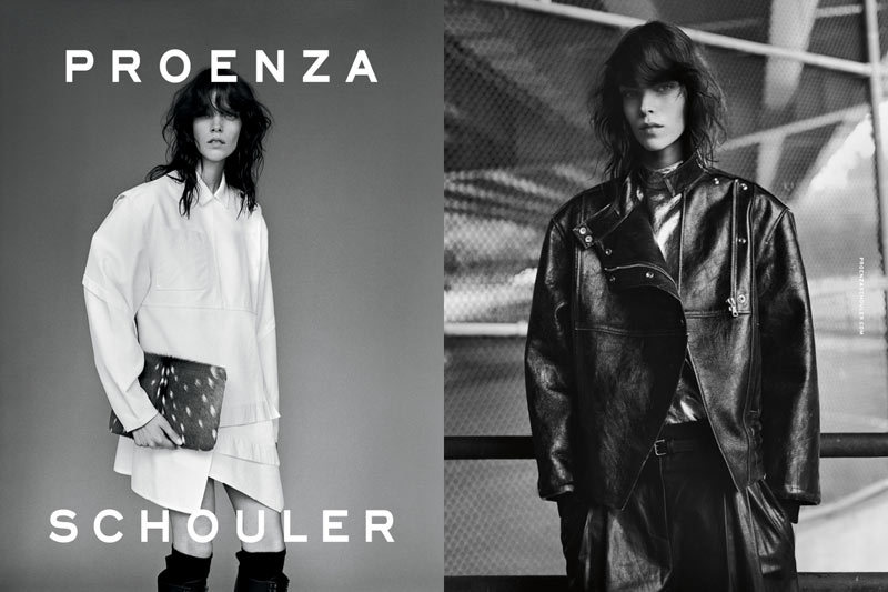 Campaña: Proenza Schouler Otoño/Invierno 2012 Meghan Collison por Alasdair McLellan. Estilismo de Marie Chaix. ….. Campaign: Proenza Schouler Autumn/Winter 2012 Meghan Collison by Alasdair McLellan. Styling by Marie Chaix.