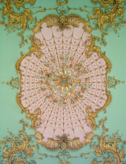 nothinghumanisalientome:  Rococo ceiling detail, Schloss Charlottenburg