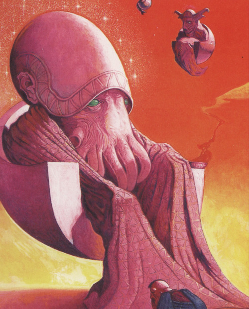 11200:  Wayne Barlowe Untitled, from the artist's portfolio