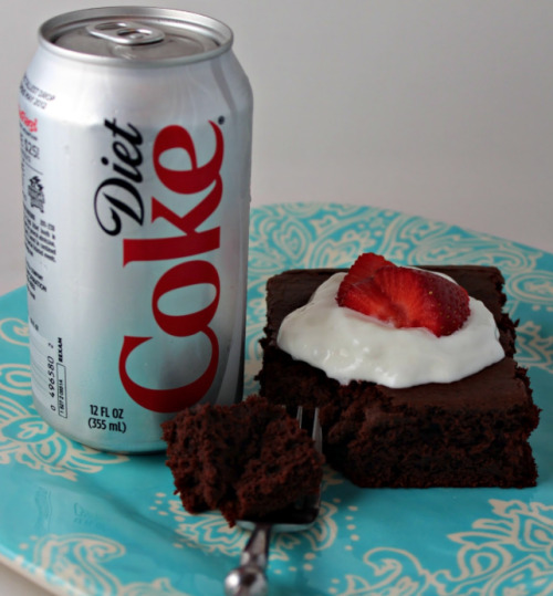 I made a delicious chocolate cake using only a can of diet coke and cake mix! Enjoy Coke Cake! I was inspired by photos like this that I have seen online.  I made a video of me making it. Hope you enjoy.
