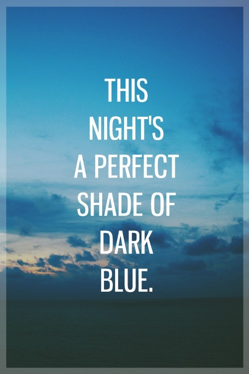 Dark Blue by Jack's Mannequin